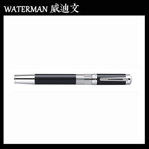 【MY】 WATERMAN ELEGANCE 名門系列 麗黑白夾 鋼珠筆 W0891450
