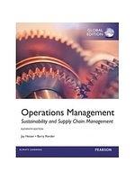 二手書博民逛書店 《Operations Management(11版)》 R2Y ISBN:0273787071│Heizer、Render