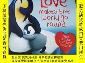 二手書博民逛書店Love罕見makesthe world go round(英文原版)Y306991 Melanie Joyc