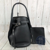 BRAND楓月 CELINE 舊版LOGO 深灰色 BUCKET BIG BAG 水桶包 手提包 手袋