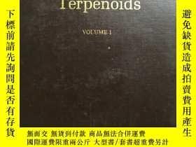 二手書博民逛書店F15罕見Dictionary of Terpenoids VO