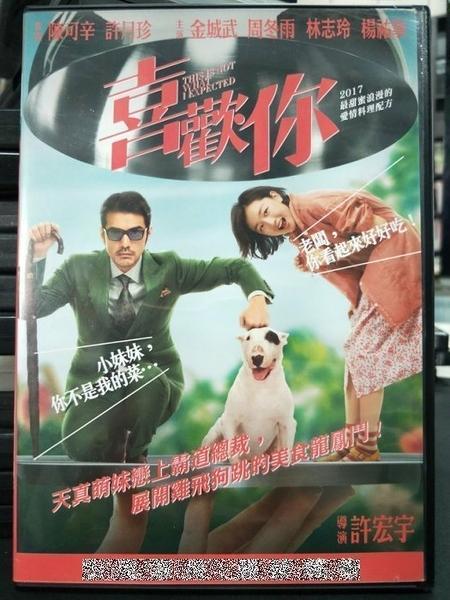 挖寶二手片-P68-002-正版DVD-華語【喜歡你】-金城武 周冬雨 林志玲(直購價)
