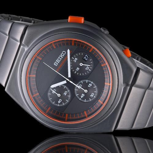 精工 SEIKO X GIUGIARO SPIRIT 聯名限量計時腕錶 7T12-0CD0R SCED055J