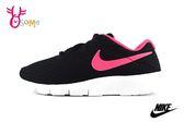 NIKE TANJUN 運動鞋 女童 中童 透氣慢跑鞋O7153#黑桃◆OSOME奧森童鞋