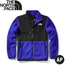 【The North Face 男 ICON經典保暖刷毛外套《黑/藍》】496U/保暖外套/夾克/休閒外套