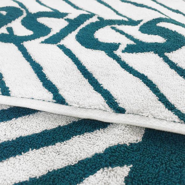 Asics Towel 22x110cm [Z12001-80] 長型 毛巾 慢跑 馬拉松 運動 親膚 吸水 綠白