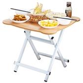 摺疊桌家用餐桌小戶型不含椅子