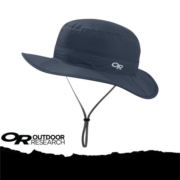 【Outdoor Research 美國 OR CLOUD FOREST RAIN HAT 抗UV防水透氣中盤帽/XL《深藍》】264408-0218/UPF50+