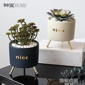 北歐ins多肉仿真植物盆栽仙人掌綠植裝飾假花室內客廳桌面小擺件