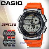 CASIO 卡西歐手錶 AE 1000W 4B VDF 男錶數字電子錶樹脂錶帶碼錶倒數計時
