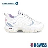 【超取】K-SWISS HS329 WP防水老爹鞋-中性-白/粉藍/粉紫