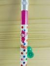 【震撼精品百貨】日本精品百貨-自動鉛筆-熊圖案-圓點