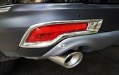 【車王小舖】本田 Honda CRV C-RV 5代 五代 後霧燈框 後霧燈罩 裝飾框 電鍍精品
