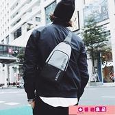 男士包包2021新款潮男生休閒單肩斜背包小背包潮流時尚胸包男 源治良品