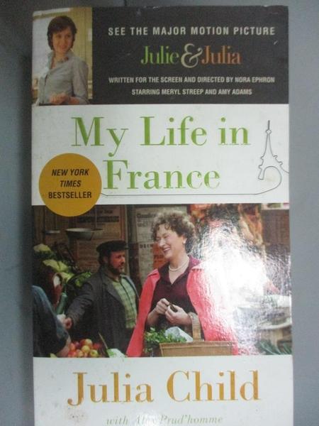 【書寶二手書T6/原文小說_OIB】My Life in France_Julia Child, Alex Prud H