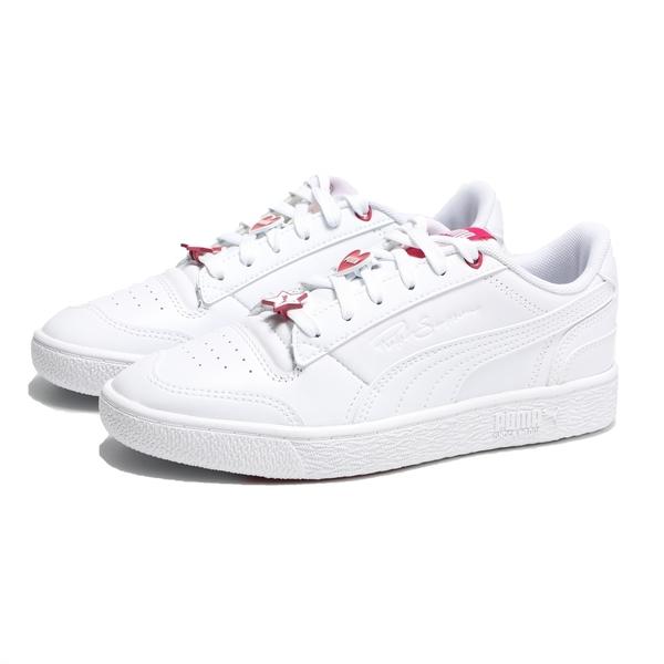 PUMA 休閒鞋 RALPH SAMPSON 白 紅標 愛心星星 鞋扣 情人節款 女(布魯克林) 37501001