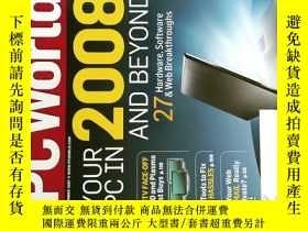 二手書博民逛書店PC罕見WORLD Magazine 2007年11月 英文個人電腦雜誌 可用樣板間道具雜誌Y114412