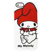 iPhone5S 日本三麗鷗原廠 Melody經典造型 手機硬殼 Enya恩雅殼 (第二件1元)