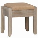 【森可家居】科瑞鏡台椅 10JX304-8 化妝椅 可置物 工業風 MIT台灣製造