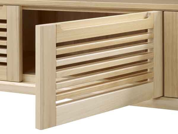 【藝匠】大雪山檜木3門電視櫃 矮櫃  實木長櫃  原木收納櫃 客廳 TV櫃 檜木