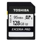 【新風尚潮流】 TOSHIBA N401記憶卡 128G 128GB SDXC U3 THN-N401S1280A4