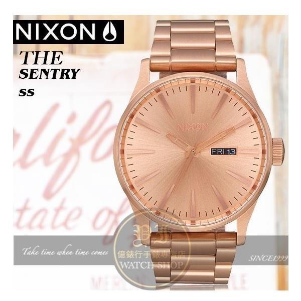 【南紡購物中心】NIXON實體店The Sentry SS街頭潮流腕錶A356-2730