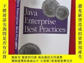 二手書博民逛書店Java罕見Enterprise Best Practices