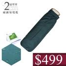499 特價 雨傘 萊登傘 薄傘 扁傘 輕傘 口袋傘 手開三折傘 好攜帶 Leighton 易甩乾 素色 (綠色)