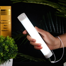 【AJ470】磁吸LED照明燈-加長款 露營燈 手電筒 緊急照明 燈管 行動電源 USB燈 釣魚燈★EZGO商城★