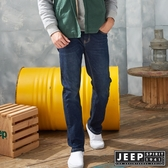 【JEEP】美式經典休閒刷色牛仔褲