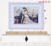 歐式實木相框A3婚紗照片框擺台掛墻畫框 衣普菈