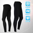 女性多功能運動緊身褲 長束褲 壓縮褲 包覆肌肉 雕塑身形 縫線黑