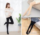 韓國連褲襪女春款中厚壓力肉色打底襪褲加絨加厚瘦腿光腿絲襪『小宅妮時尚』