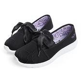 Disney 俏皮公主 米妮蝴蝶結綁帶休閒鞋-黑(DW3622)