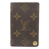 LOUIS VUITTON LV 路易威登 原花透明夾層卡片夾 CardCase M60937 【二手名牌BRAND OFF】