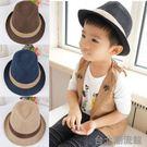 男童女童爵士帽太陽帽童帽 草帽