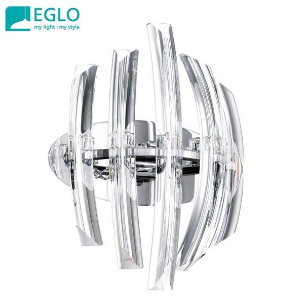 【EGLO歐風燈飾】歐式奢華水晶玻璃壁燈
