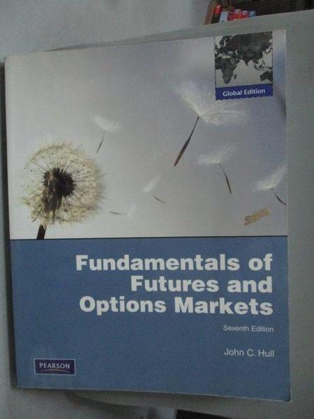 【書寶二手書T8/大學商學_QXA】Fundamentals of Futures and Options Market