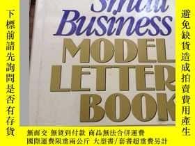 二手書博民逛書店small罕見business model letter boo