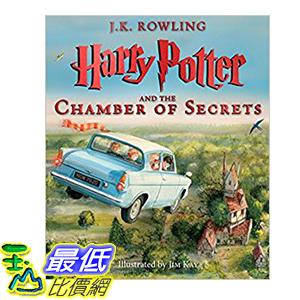 [106美國直購] 2017美國暢銷書 Harry Potter and the Chamber of Secrets:The Illustrated Edition (Harry Potter, Book 2)