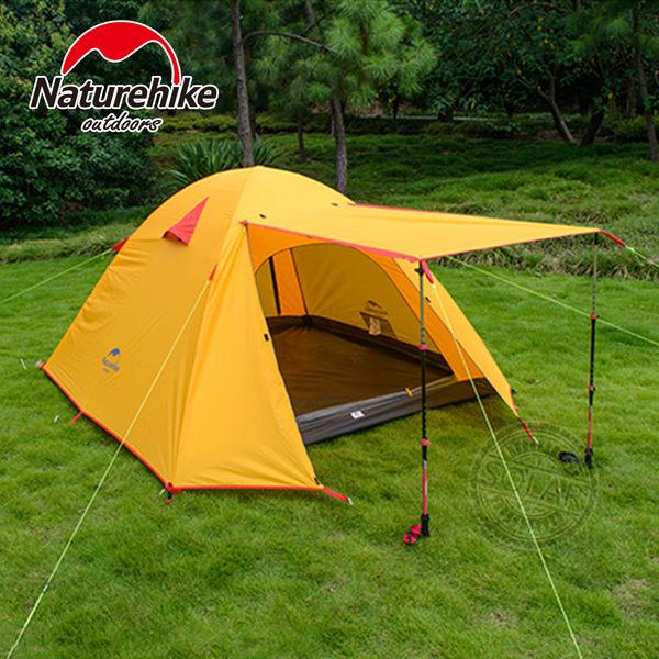 NatureHike頂級雙層速搭輕便四人帳篷