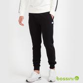 【歲末出清】針織束口長褲03黑-bossini男裝