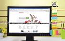 【螢幕留言板兔子款】LCD電腦螢幕側邊便利貼板備忘錄壓克力板