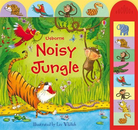 Noisy Jungle 熱鬧叢林 精裝硬頁有聲書