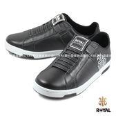 ROYAL ELASTICS 新竹皇家 ICON 黑色 皮革 休閒鞋 男款 NO.A8523