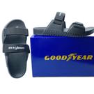【樂樂童鞋】GOODYEAR台灣製女款輕量拖鞋-黑色 G013-1 - 女童鞋 拖鞋 大童鞋 沙灘鞋 室內鞋 台灣製