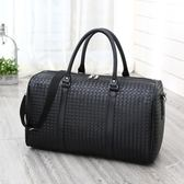 手提行李包女旅行包防水男健身登機包行李袋輕便大容量短途簡約小   9號潮人館