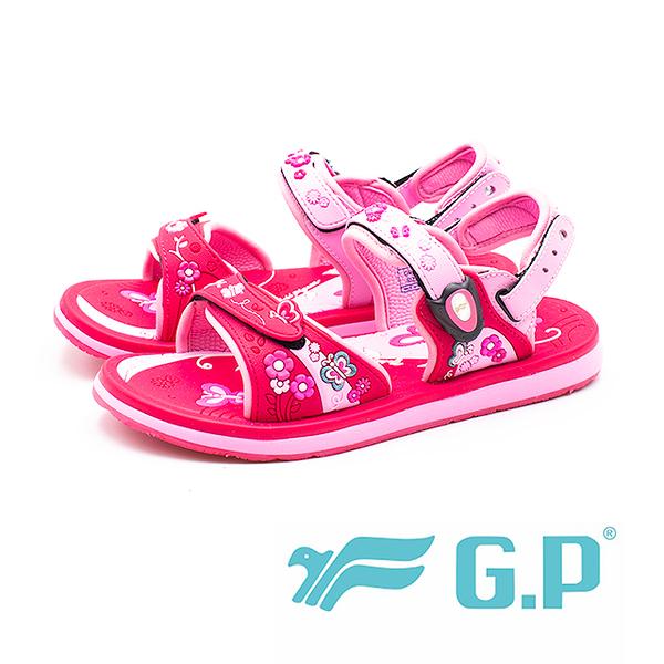 G.P (童)夢幻公主風兩用童涼鞋-桃(另有紫)