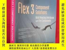 二手書博民逛書店Flex罕見3 Component Solutions: Bui