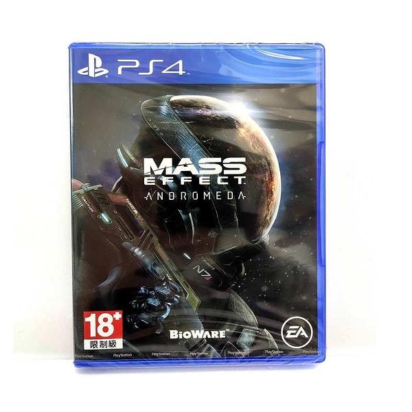 PS4 質量效應 仙女座 Mass Effect Andromeda 亞版 英文版 公司貨 全新圖如